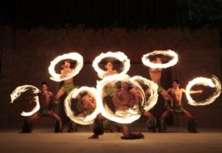 スパリゾートハワイアンズファイヤーナイフダンスチーム「Siva Ola」